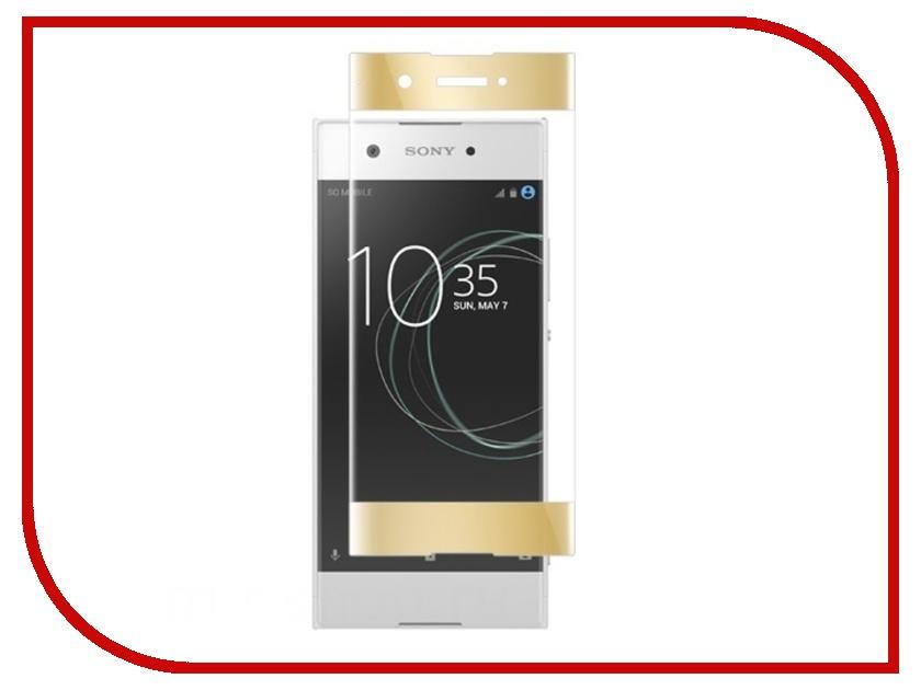 Аксессуар Защитное стекло Sony Xperia XA1 BROSCO Full Screen Gold XA1-FS-GLASS-GOLD аксессуар защитное стекло sony xperia xa1 ultra brosco full screen black xa1u fs glass black