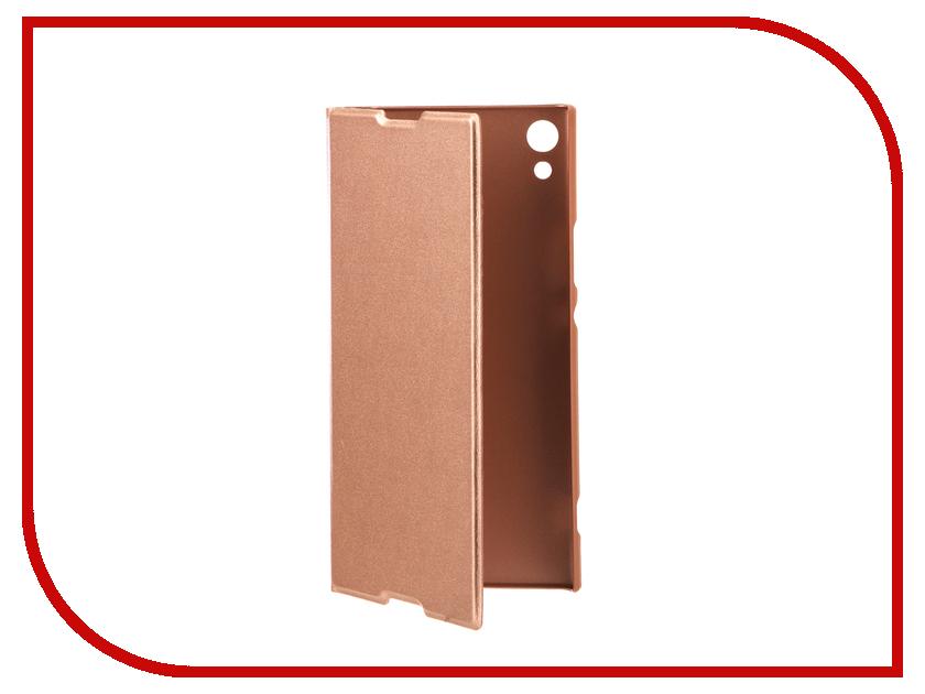 Аксессуар Чехол Sony Xperia XA1 Ultra BROSCO PU Pink XA1U-BOOK-PINK аксессуар чехол sony xperia xa1 brosco pink xa1 4side st pink