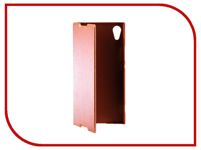 Аксессуар Чехол Sony Xperia XA1 BROSCO Pink XA1-BOOK-PINK аксессуар чехол sony xperia xa1 brosco pink xa1 4side st pink