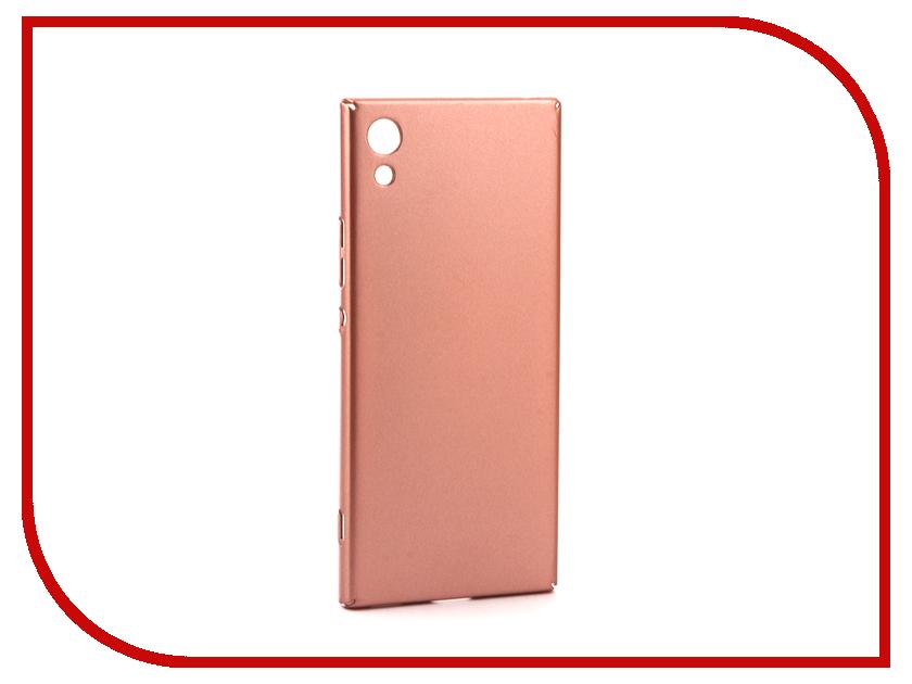Аксессуар Чехол Sony Xperia XA1 BROSCO Pink XA1-4SIDE-ST-PINK аксессуар чехол sony xperia xa1 brosco pink xa1 4side st pink