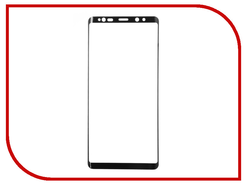 Аксессуар Защитное стекло для Samsung Galaxy Note 8 Full Screen 3D Red Line Black УТ000012443 high quality for sony xperia tablet z2 sgp511 sgp512 sgp521 sgp541 lcd touch screen digitizer with display lcd assembly complete