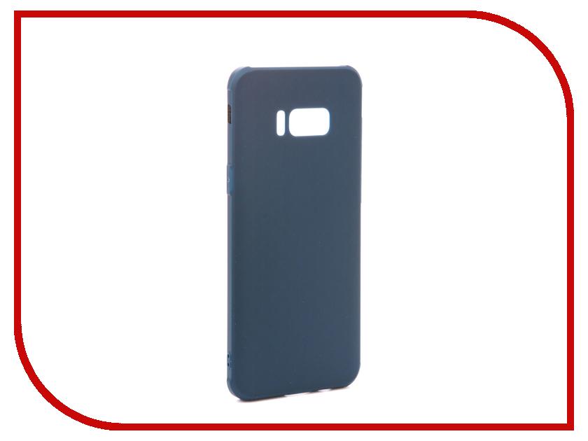 Аксессуар Чехол Samsung Galaxy S8 Plus Red Line Extreme Blue оригинальный samsung galaxy s8 s8 plus nillkin 3d ap pro полноэкранный экранный протектор экрана