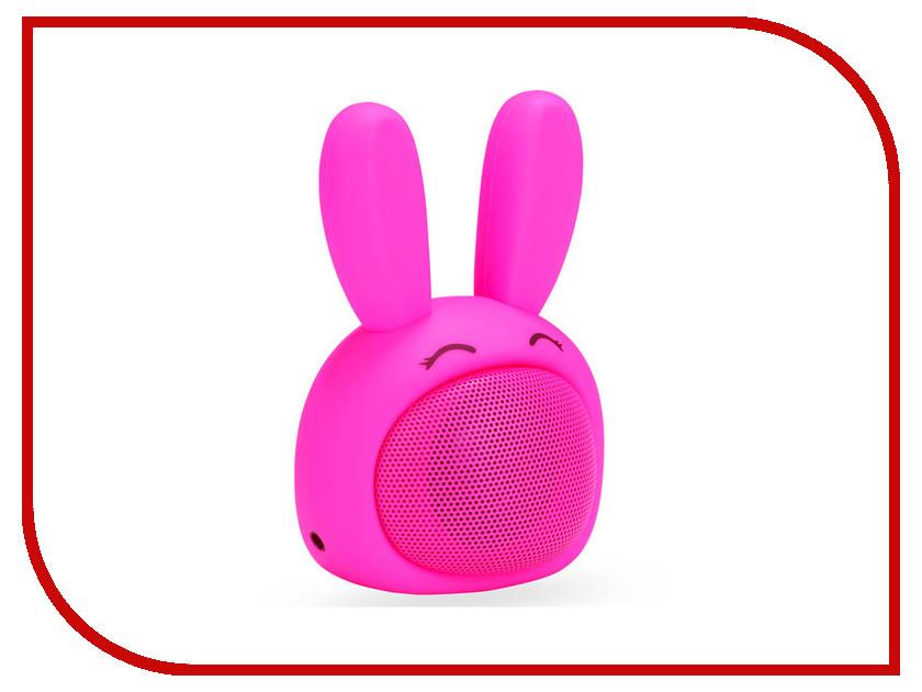 Колонка InterStep SBS-150 Funny Bunny Pink беспроводная акустика interstep sbs 150 funnybunny blue is ls sbs150blu 000b201