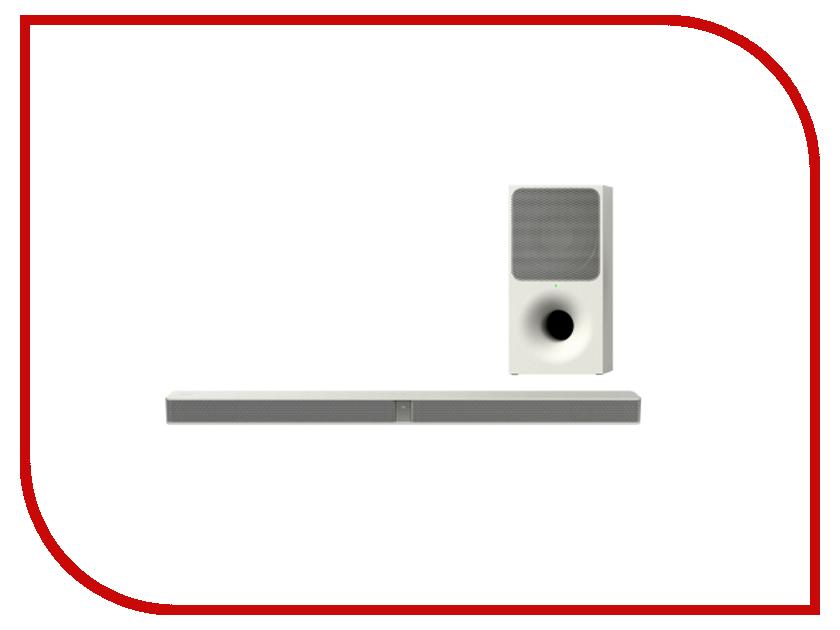 Звуковая панель Sony HT-CT291 White cаундбар sony ht mt300