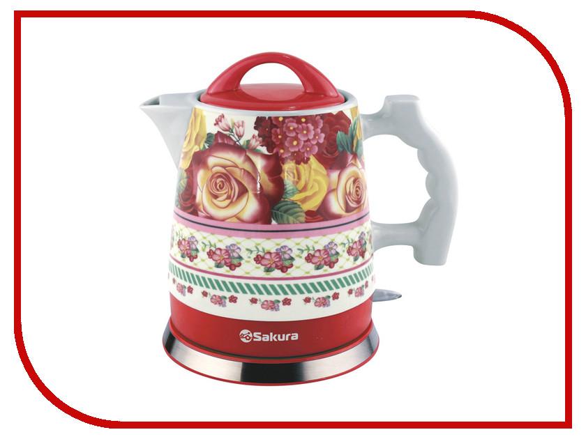Чайник Sakura SA-2016R электромагнитный клапан indesit с сушкой