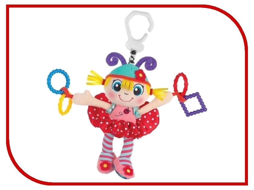 Игрушка Playgro Девочка-божья коровка 0183685 игрушки подвески playgro игрушка подвеска девочка божья коровка