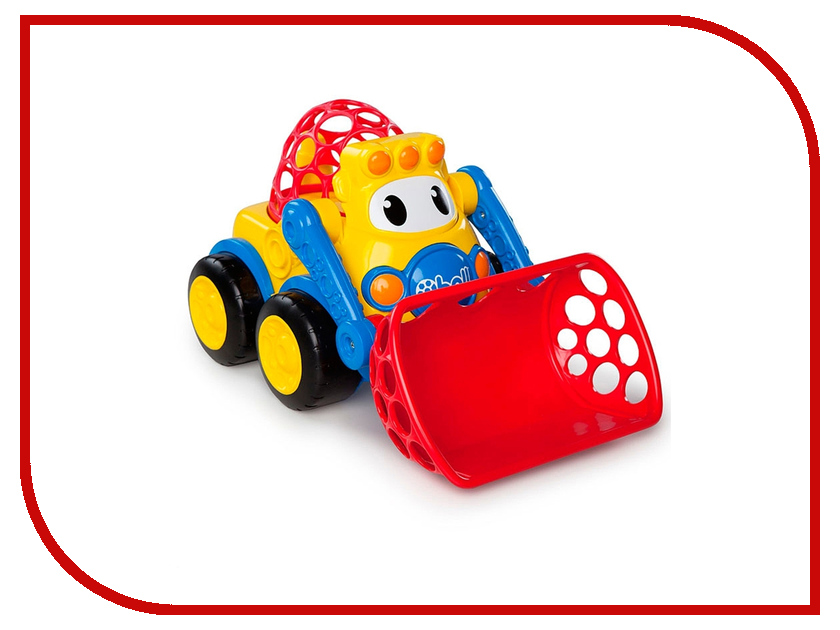 Машина Oball Погрузчик 10313 dave toy погрузчик инерционный