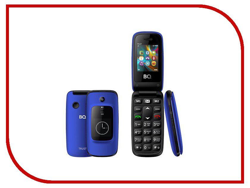 Сотовый телефон BQ 2002 Trust Blue 2002 5 153