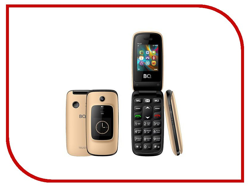Сотовый телефон BQ 2002 Trust Gold