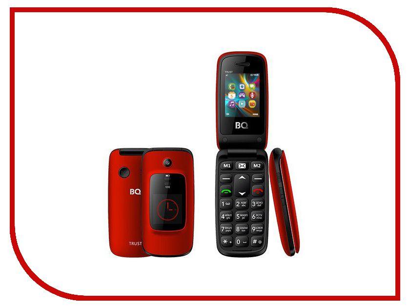 Сотовый телефон BQ 2002 Trust Red bq 2002 trust gold мобильный телефон