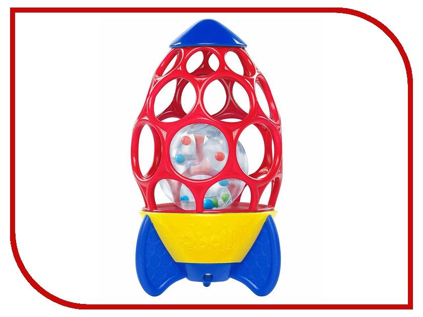 Погремушка Oball Ракета 10806 головоломки oball развивающая игрушка на присоске oball