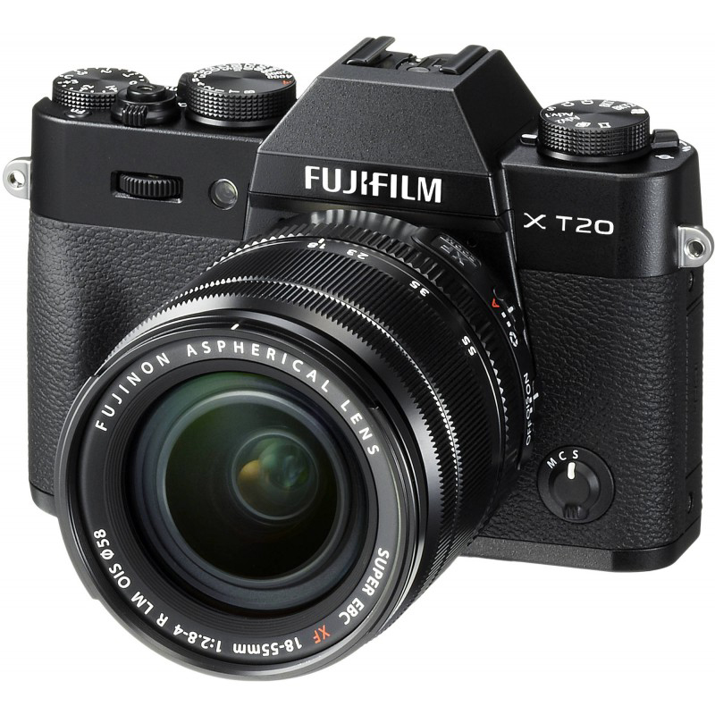 Фотоаппарат Fujifilm X-T20 Kit 18-55 mm Black
