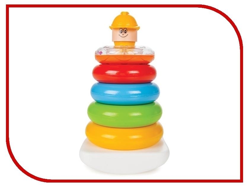 Игрушка Pilsan Пирамидка весёлые кольца 03-267 pilsan bunny