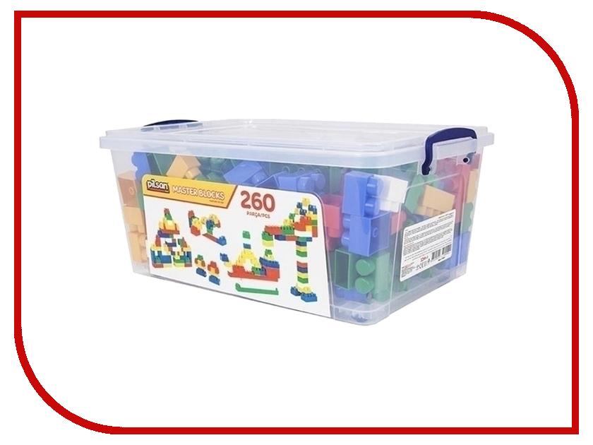 Конструктор Pilsan Master Blocks 260 дет. 03-454 купить конструктор bristle blocks