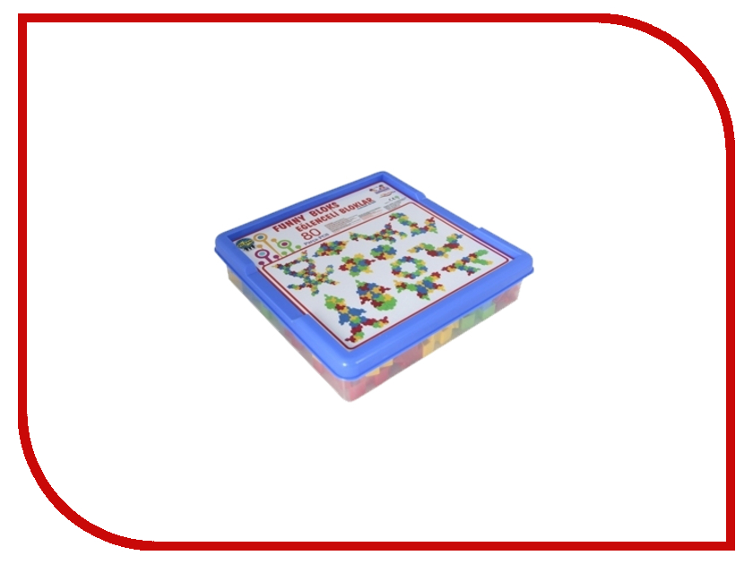 Конструктор Pilsan Funny Blocks 80 дет. 03-259 архитектура l funny blocks
