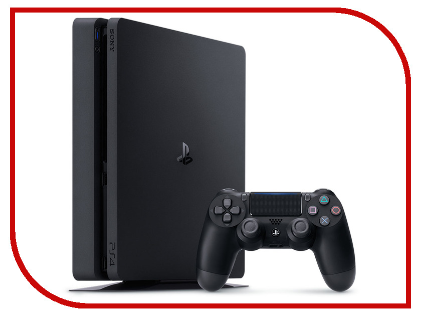 Игровая приставка Sony PlayStation 4 Slim 1Tb + FIFA 18 + DualShock 4 игровая приставка sony playstation 4 slim 500gb hrz dc r