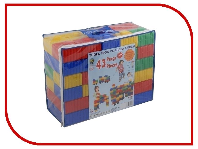 Конструктор Pilsan Brick 43 дет. 03-251 конструктор pilsan brick 43 детали 03 251