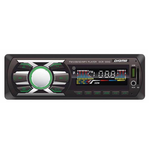 купить Автомагнитола Digma DCR-300G дешево