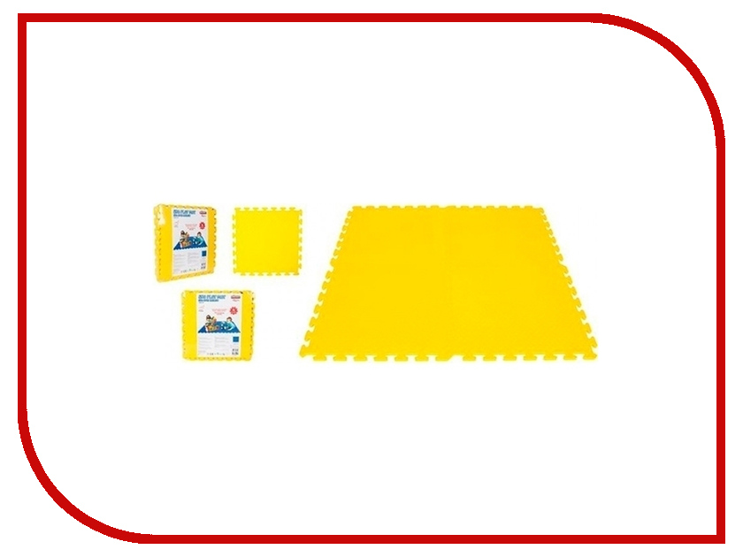 Развивающий коврик Pilsan Eva Play Ma 03-435 Yellow tom & eva to037awtji88