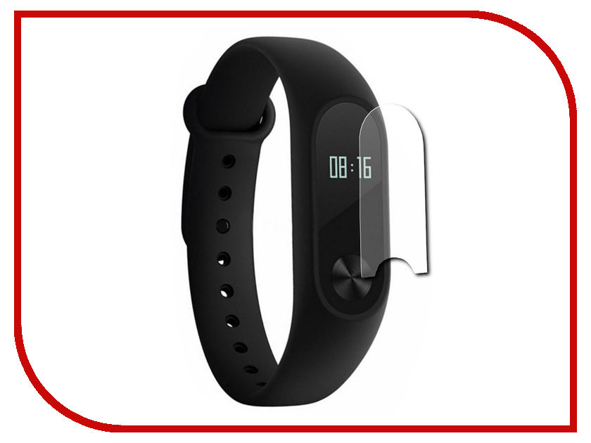 Aксессуар Пленка защитная Red Line для Xiaomi Mi Band 2 0.42mm УТ000013163 usb flash drive 8gb smartbuy glossy black sb8gbgs k