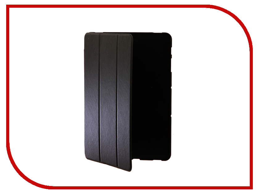 Аксессуар Чехол для Samsung Tab S3 9.7 iBox Premium Black Metallic УТ000012660 браун роуз дизайн кожа pu откидная крышка бумажника карты держатель чехол для samsung s3