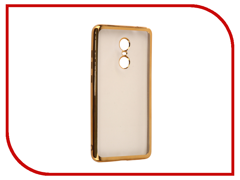 Аксессуар Чехол Xiaomi Redmi Note 4X iBox Blaze Silicone Gold frame naxtop 1pc screen film for xiaomi redmi note 4x 4gb 64gb high version