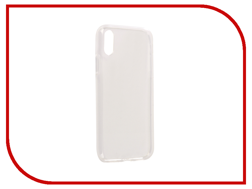 Аксессуар Чехол iBox Crystal Silicone для APPLE iPhone X Transparent protective crystal pearl w crystalplastic back case for iphone 4 4s silver white