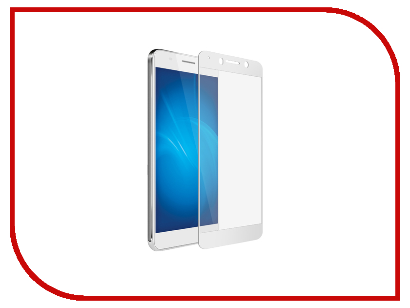 Аксессуар Защитное стекло для Huawei Honor 6A 5.0 Red Line Full Screen Tempered Glass White УТ000012417 аксессуар защитный экран для huawei honor 6c pro red line full screen tempered glass blue ут000014376