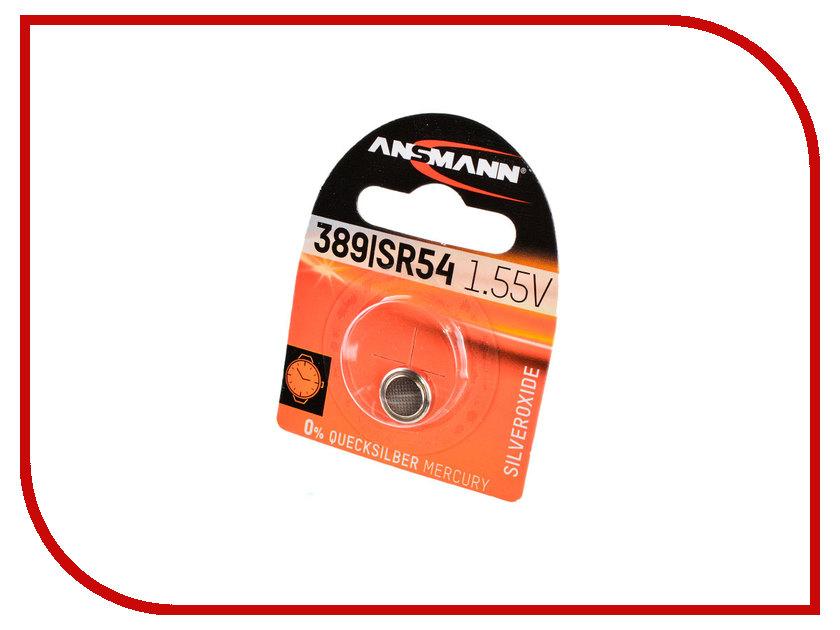 Батарейка SR54 - Ansmann BL1 1516-0015 аксессуар ansmann energy check lcd 4000392