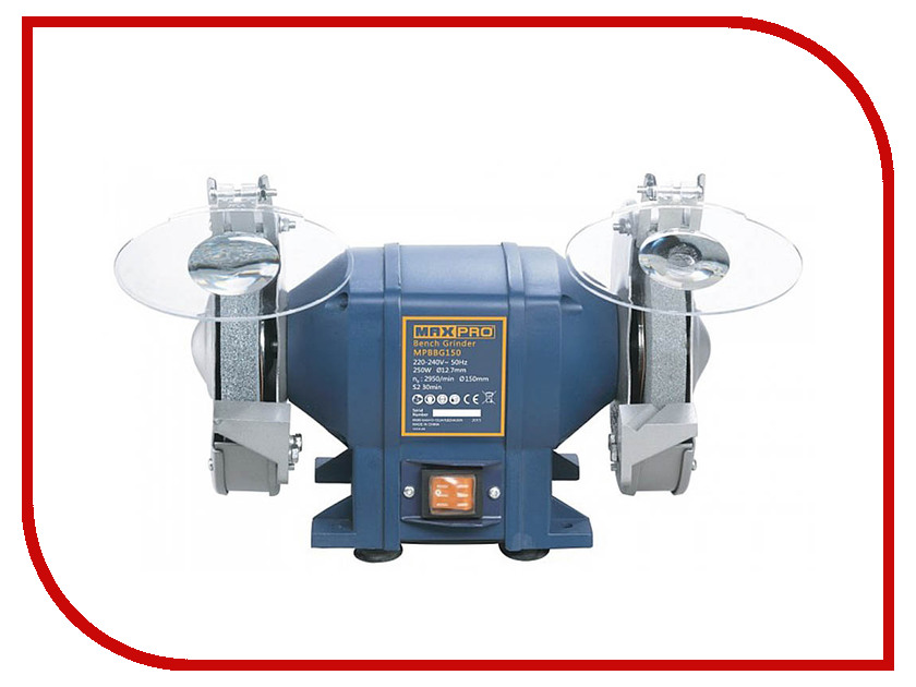 Электроточило Max-Pro MPBBG150 85165 электроточило max pro mpbbg200 85167