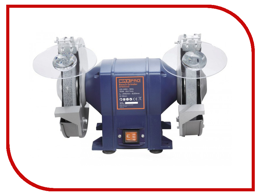 Электроточило Max-Pro MPBBG200 85167 электроточило max pro mpbbg200 85167