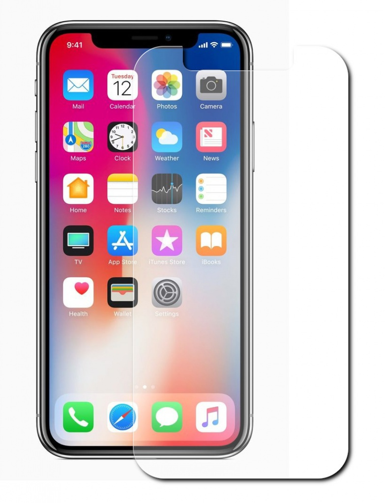 Защитное стекло Red Line для APPLE iPhone X / XS Tempered Glass УТ000012291