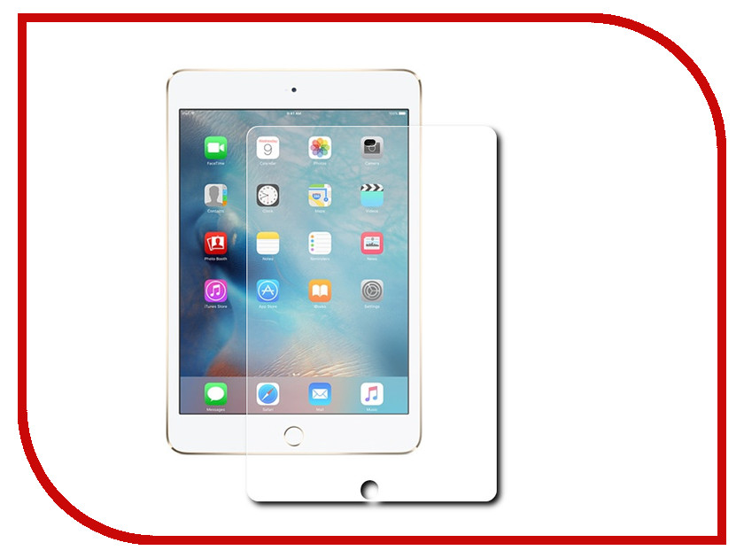 Аксессуар Защитная пленка Red Line для iPad Air / Air 2 Pro 9.7 / iPad 2017 матовая УТ000004459 blue color bull high pressure pcp hand air pump for air gun coming with valve gauge