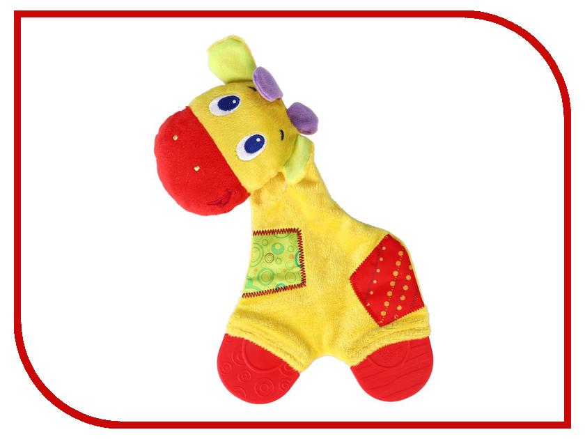 Прорезыватель Bright Starts Жираф 8916-3 прорезыватель bright starts динозаврик желтый 52029 2