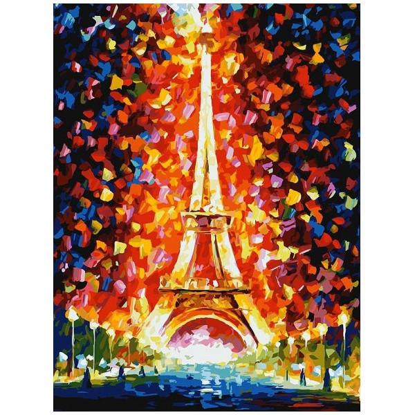 Фото - Белоснежка - Париж огни Эйфелевой башни 026-AS белоснежка улочка к морю 300 as