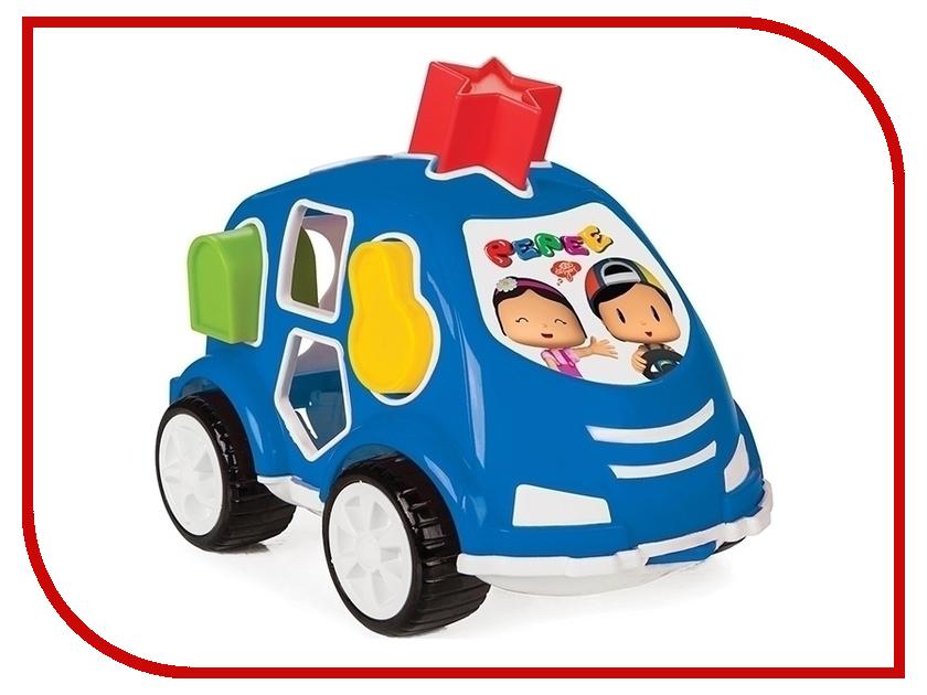Сортер Pilsan Машинка Blue 03-187 машинка сортер музыкальная