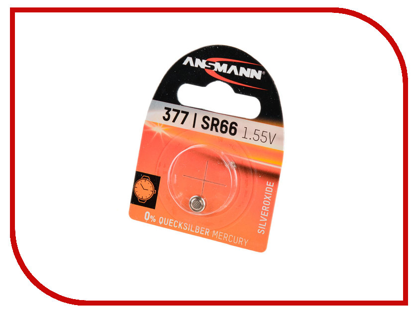 Батарейка SR66 - Ansmann BL1 1516-0019 аксессуар ansmann energy check lcd 4000392