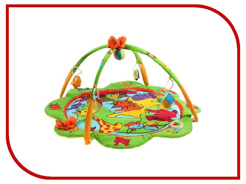 Развивающий коврик Canpol Zoo 2/260 250930007 canpol babies коврик развивающий цветной океан