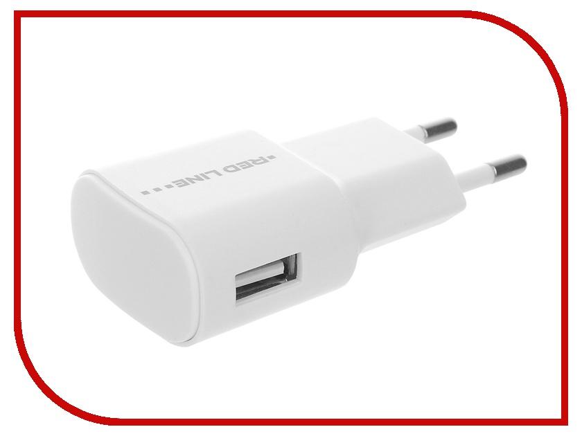 Зарядное устройство Red Line Lite TC-1A 1xUSB 1A White + USB - micro USB White зарядное устройство red line s7000 white