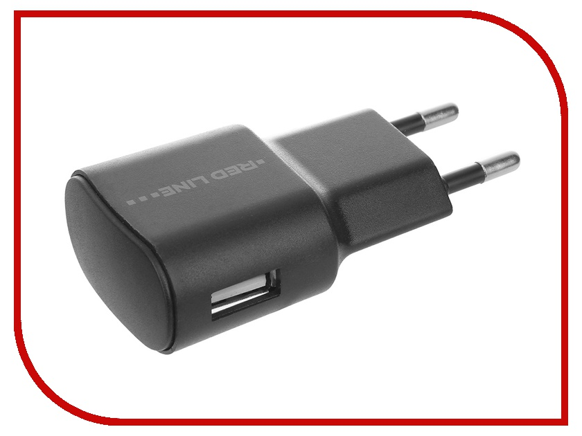 купить Зарядное устройство Red Line Lite TC-1A 1xUSB 1A Black + USB - micro USB Black онлайн