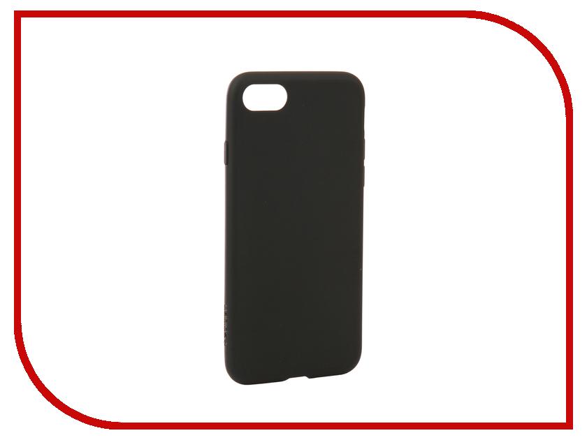Аксессуар Чехол Spigen Liquid Crystal для APPLE iPhone 7 / 8 Mat Black 054CS22204 аксессуар чехол spigen thin fit для apple iphone 7 black 042cs20427
