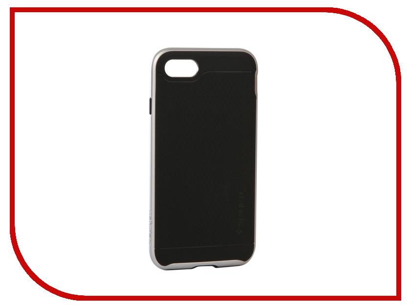 Аксессуар Чехол Spigen Neo Hybrid 2 Satin для APPLE iPhone 7 / 8 Silver 054CS22359 neo hybrid
