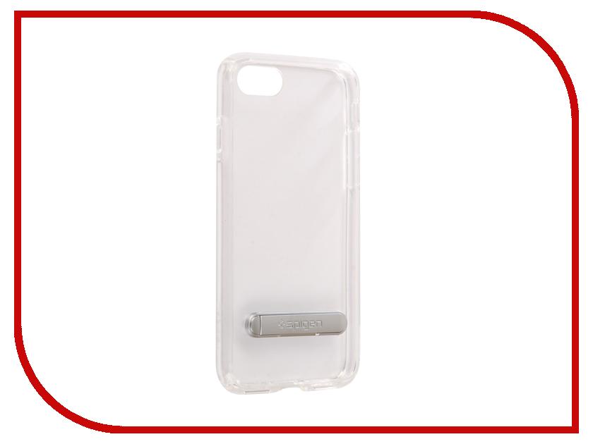 аксессуар чехол spigen airskin для apple iphone 7 plus transparent mat 043cs20499 Аксессуар Чехол Spigen Ultra Hybrid S для APPLE iPhone 7 / 8 Crystal Transparent 054CS22213