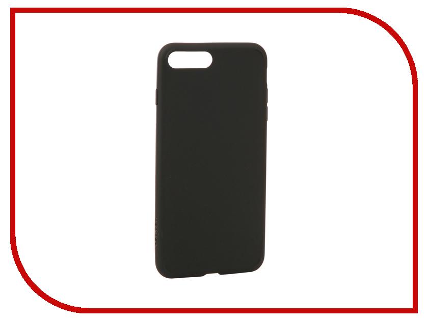 Аксессуар Чехол Spigen Liquid Crystal для APPLE iPhone 7 / 8 Plus Mat Black 055CS22234 чехол накладка 620023 iphone 6 plus lims sgp spigen стиль 4