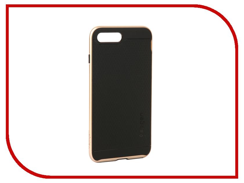 аксессуар чехол spigen airskin для apple iphone 7 plus transparent mat 043cs20499 Аксессуар Чехол Spigen Neo Hybrid 2 для APPLE iPhone 7 / 8 Plus Champagne 055CS22375