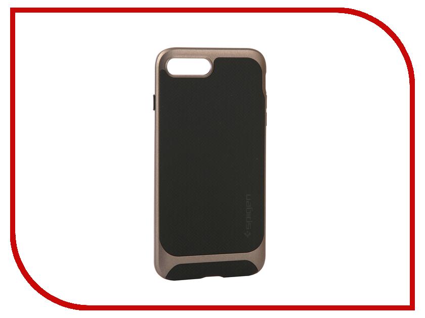 Аксессуар Чехол Spigen Neo Hybrid Herringbone для APPLE iPhone 7 / 8 Plus Steel 055CS22227 чехол накладка iphone 6 plus lims sgp spigen стиль 7 620026