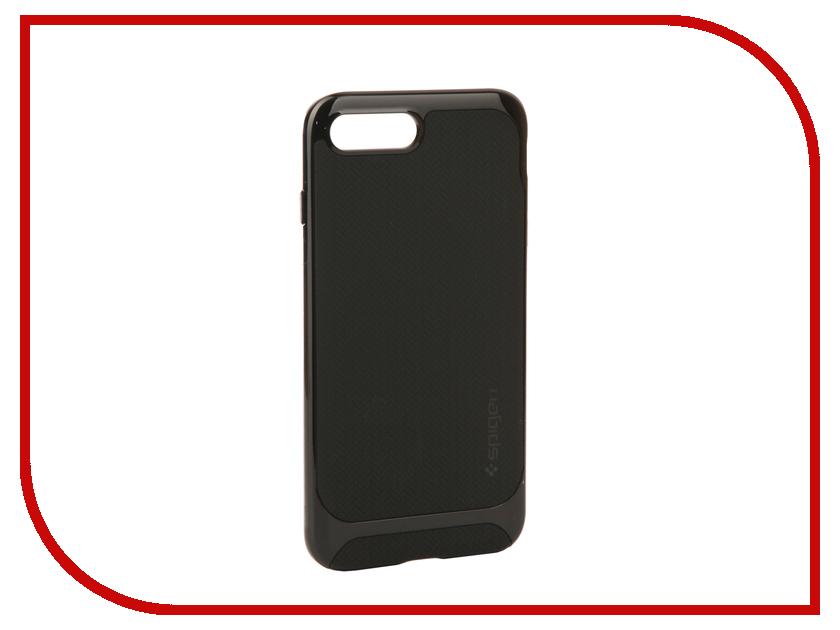 Аксессуар Чехол Spigen Neo Hybrid Herringbone для APPLE iPhone 7 / 8 Plus Black 055CS22230 чехол накладка 620023 iphone 6 plus lims sgp spigen стиль 4