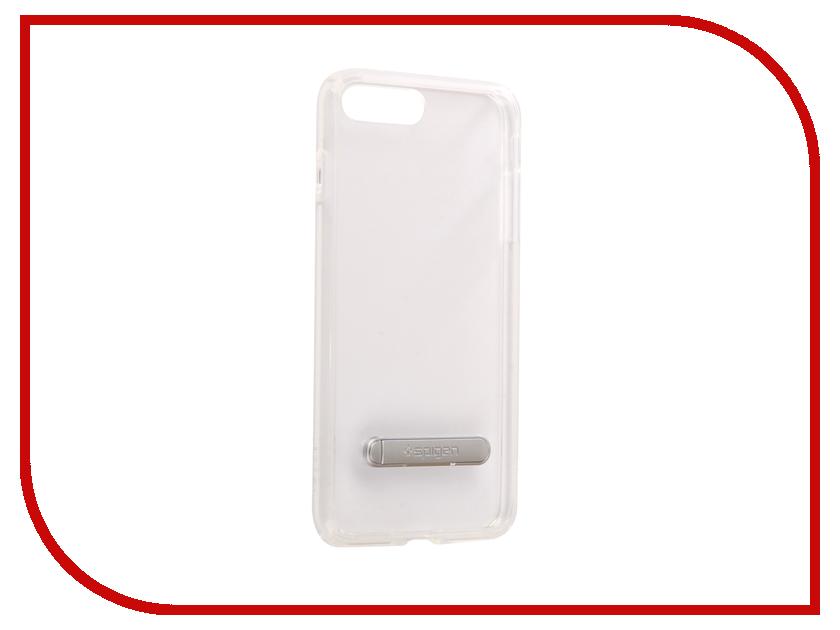 Аксессуар Чехол Spigen Ultra Hybrid S для APPLE iPhone 7 / 8 Plus Crystal Transparent 055CS22243 чехол накладка 620023 iphone 6 plus lims sgp spigen стиль 4