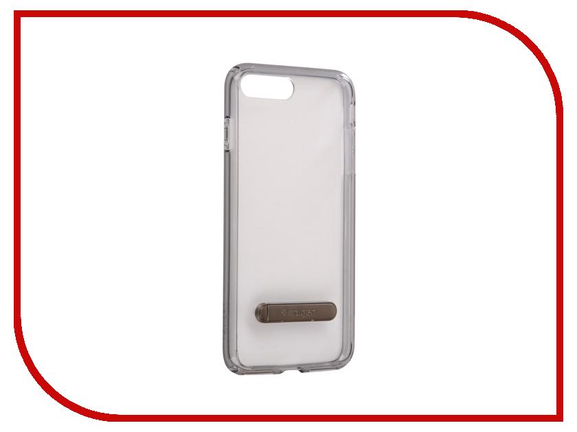 Аксессуар Чехол Spigen Ultra Hybrid S для APPLE iPhone 7 / 8 Plus Ultra Black 055CS22242 spigen hybrid armor 042cs20840 чехол для iphone 7 black onix