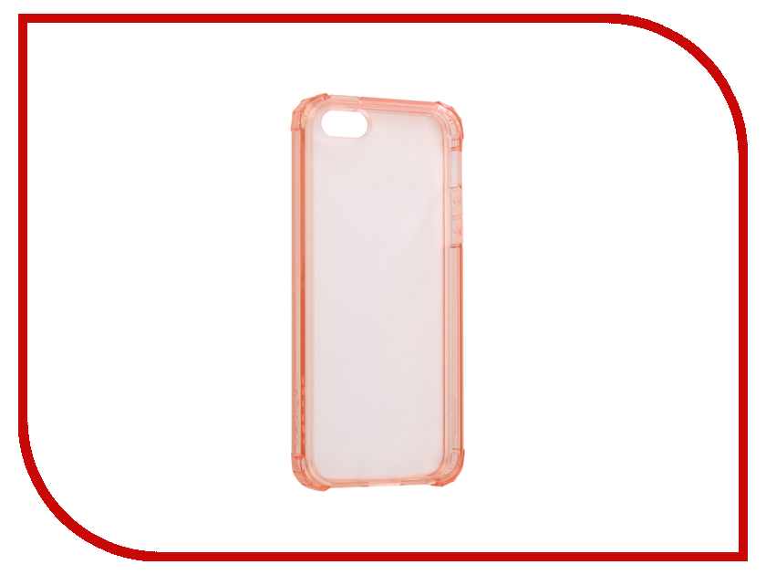 Аксессуар Чехол Spigen Crystal Shell для APPLE iPhone 5 / 5S / SE Rose Crystal 041CS20178 аксессуар чехол ibox crystal для apple iphone 5 5s se grey